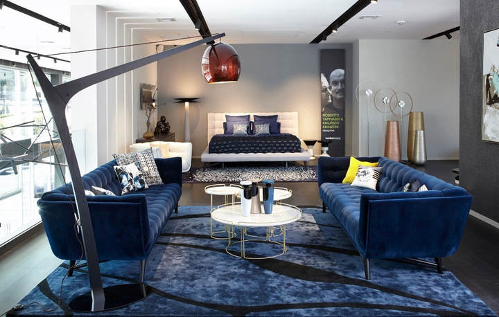 Roche bobois opening of their new manhasset li show room